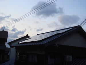 太陽光発電システム 京都丹後