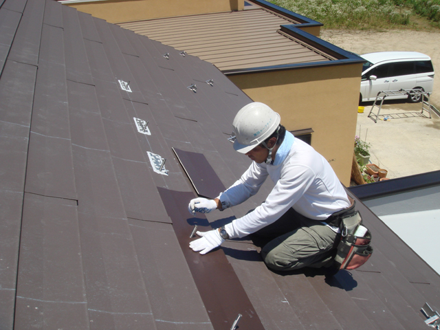 京丹後市 金属屋根 太陽光発電