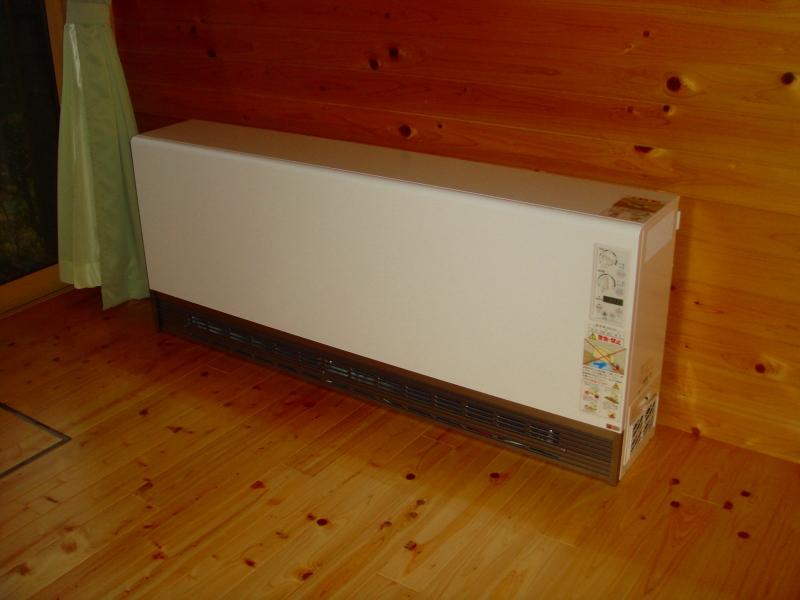 電気蓄熱暖房機「暖吉くん」2