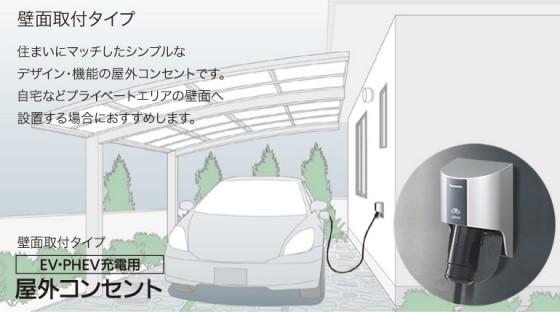 電気自動車用コンセント1