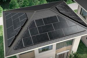 太陽光パネル台形モジュール